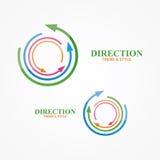 Beståndsdel för vektorlogodesign Idérikt modernt, Royaltyfria Bilder
