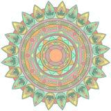 Beståndsdel för vektormandaladesign Royaltyfri Fotografi