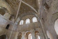 Beståndsdelar av det kyrkliga arkitekturstället av jordfästningen av St Nicholas Arkivbilder
