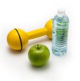 Beståndsdelar av en sund livsstil Arkivfoto