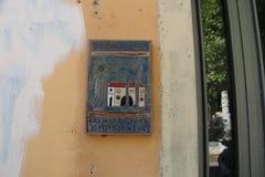 Beståndsdelar av gataarkitektur arkivfoton