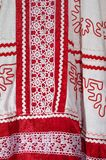 Beståndsdelar av ryska designkvinnors kläder Royaltyfri Foto