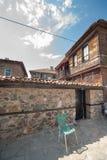 Beståndsdelar av traditionell bulgarisk arkitektur Royaltyfri Fotografi