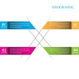 Beståndsdelar för Infographic banerdesign Vektor Illustrationer