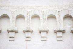 Beståndsdelarkitektur av kyrkan Arkivbilder