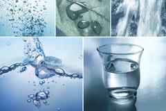 Beståndsdelvatten Arkivbilder