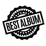 Best Album rubber stamp. Grunge design with dust scratches. Effects can be easily removed for a clean, crisp look. Color is easily changed Royalty Free Stock Photo
