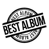 Best Album rubber stamp. Grunge design with dust scratches. Effects can be easily removed for a clean, crisp look. Color is easily changed Royalty Free Stock Photography