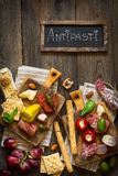 Best antipasto plate. Stock Photos