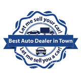Best auto dealer in town - business stamp Royalty Free Stock Photography