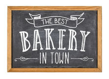 Best bakery in town Royalty Free Stock Photos