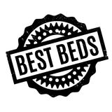 Best Beds rubber stamp Stock Photography