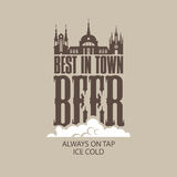 Best beer in the town Royalty Free Stock Photo