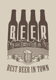 Best beer in town Royalty Free Stock Photography