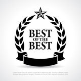 Best of the best icon Stock Photos