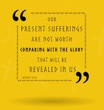 Best Bible quotes about sufferings and glory