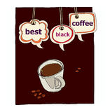 Best black coffee Royalty Free Stock Photos