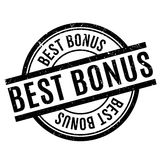 Best Bonus rubber stamp Royalty Free Stock Image