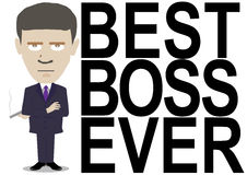 Best boss ever Stock Images