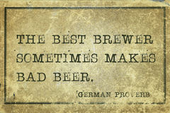 Best brewer GP Royalty Free Stock Images