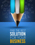 Best Business Solution Infographic Layout Template Stock Images