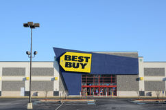 Best Buy. Is a retailer of consumer electronics in the United States, accounting for 19% of the market royalty free stock photography