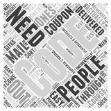 Best buy coupon codes word cloud concept vector background. Text Royalty Free Stock Photography