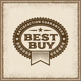 Best Buy d'annata identifica Immagine Stock