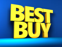 Best buy Royalty Free Stock Image