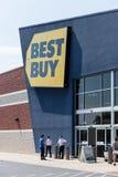 Best Buy elektronika sklep Zdjęcie Royalty Free