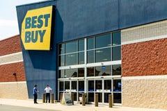 Best Buy elektronika użytkowa sklep Obrazy Royalty Free