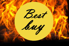 Best buy icon Royalty Free Stock Image