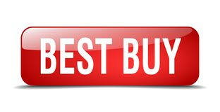 Best Buy knapp Stock Illustrationer