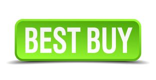 Best Buy knapp Vektor Illustrationer