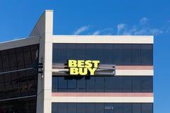 Best Buy kwater głównych Korporacyjny Budować Obrazy Stock