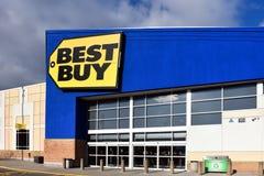 Best Buy lager i Ottawa royaltyfri fotografi