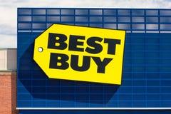 Best Buy-opslagvoorzijde stock afbeelding