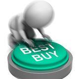 Best Buy Pressed Shows Superior Product Or Deal Stock Photos