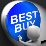Best Buy Pressed Shows Top Quality Product Stock Image