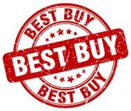 Best buy red grunge round vintage stamp. Best buy red grunge round vintage rubber stamp Royalty Free Stock Images