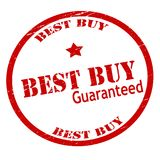 Best buy. Rubber stamp with text best buy inside,  illustration Royalty Free Stock Photos