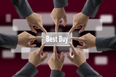 Best Buy Shopping Royalty Free Stock Images