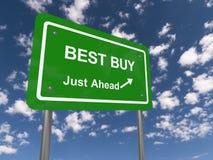 Best buy sign Stock Image
