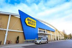 Best Buy sklep detaliczny w Portland, usa Obrazy Stock