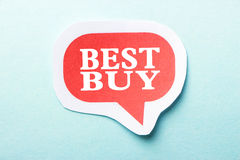 Best Buy Stock Image