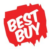 BEST BUY sticker Stock Image