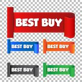 Best buy sticker. Royalty Free Stock Images