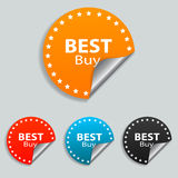 Best Buy Stickers Stock Photography