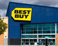Best Buy store front Royalty Free Stock Image
