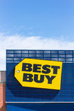 Best Buy store front. RICHFIELD, MN/USA - JUNE 21, 2014:  Best Buy store front. Best Buy is an American multinational consumer electronics corporation operating Stock Image